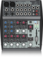 Behringer XENYX-1002  10-Input (1 mic, 4 stereo) 2-Buss with Rotary Control