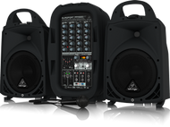 Behringer EUROPORT PPA500BT  500 Watt 6-Channel Compact Portable PA System with Bluetooth