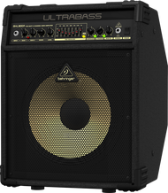"Behringer Ultrabass BXL1800A  180W 2-Channel 1x12"" Solid State Bass Combo Amplifier with Aluminum Cone Speaker"