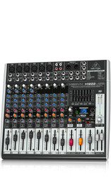 Behringer XENYX-X1222USB  16 Input Mixer with 2/2 Bus, USB, energyXT2.5 Software, 24-bit Multi-FX Processor