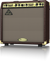 """Behringer ULTRACOUSTIC ACX450  2-Ch 45W 2x8"""" Acoustic Guitar Amplifier with Effects"""