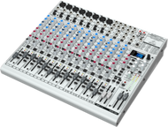 Behringer EURORACK UB2222FX-PRO  22-Input 2/2-Bus Mixer with Onboard Multi-FX Processor and 8 Microphone Preamplifiers