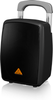 Behringer EUROPORT MPA40BT-PRO  40W Portable PA with Bluetooth® and Luggage-Style Handle and Wheels