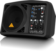 "Behringer B205D-EUROLIVE  150 Watt Active PA/Monitor Speaker with 5.25"" Speaker"