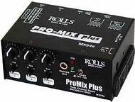 Rolls MX54s 3 Channel Microphone Mixer