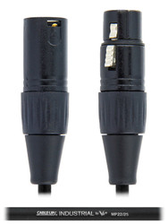 Cable Up MIC-XX-3 XLR to XLR Microphone Cable 3ft , Black