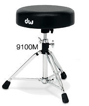 "DW DWCP9100M Drum Throne, 14"" Round, Tripod"