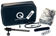Que Audio QVIDEO-PRO-KIT Professional Mini Shotgun Kit for DSLRs, HD Camcorders