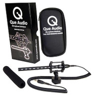 Cue Audio QVIDEO-KIT-LITE Mini Shotgun Microphone Kit for DSLRs, HD Camcorders