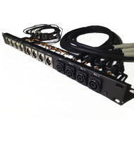 Rapco Custom Patch Bay Patchbay Amp Rack Panel Speaker Audio