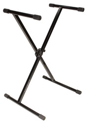 Ultimate Support IQ-1000 X-Style Single-Braced Keyboard Stand with Memory Lock