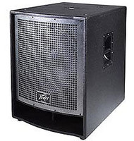 "Peavey QW118 QW Series Enclosure with 18"" Sub Woofer, 4"" Voice Coil"