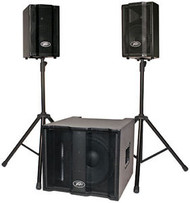 Peavey TriFlex II Portable PA System with 2 Satellite Speakers
