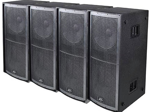 concert speakers setup. 4 pk peavey qw218 concert subwoofers enclosure touring and install speakers sub setup r