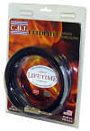 3 Pack CBI ULT Ultimate Black 18 Gauge 3ft,10ft, 18ft Guitar 1/4 to 1/4 Cable