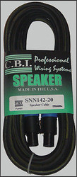 CBI SNN142-3 Power Series Speaker Cable w NL4FX Neutrik Speakon 3ft 2 pole