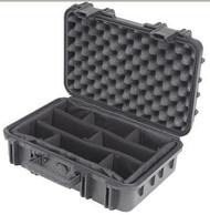 "SKB 3I-1610-5B-D Molded Case, 16 x 10 x 5.5"", Dividers"