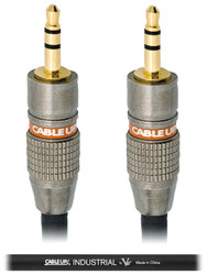 Cable up by VU 1/8 3.5 TRS-M to 1/8 3.5 TRS-M 5 Ft