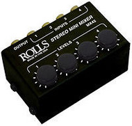 Rolls MX42 Mini Portable Mixer 4 Input Stereo