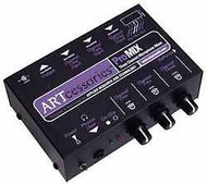 ART PROMIX 3 Channel Microphone Mixer
