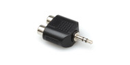 "Hosa GRM-193  Audio Adapter, Dual RCA Female to Stereo 1/8"" Male"