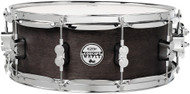 "Pacific Drums PDSN5514BWCR  5.5""x14"" Concept Series Black Wax Over Maple Snare Drum"