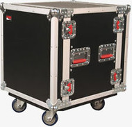 Gator Cases G-TOUR-12U-CAST 12-Space ATA-Style Rack Case w/Casters