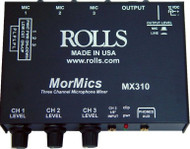 Rolls MX310 3-Channel MorMics Mixer/Combiner
