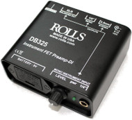 Rolls DB325 Active Instrument FET Preamp DI Box