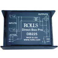 Rolls DB225 Transformer Balanced, Passive Professional Direct Box