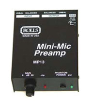 Rolls MP13 Microphone Preamp