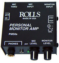 Rolls PM50s Personal Monitor Amplifier