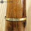 BLESSED Brass MantraCuff (100% Handmade / Adjustable)