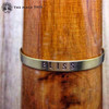 BLISS Brass MantraCuff (100% Handmade / Adjustable)