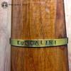 KUNDALINI (Spiritual Emergence) Brass Sanskrit MantraCuff (100% Handmade / Adjustable)