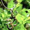 """""""The Traditional Om"""" Pendant"""" Silver Pendant"""