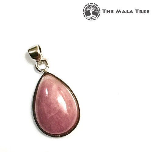 PINK TOURMALINE Lux Pendant 3 (Set in High Quality Silver)