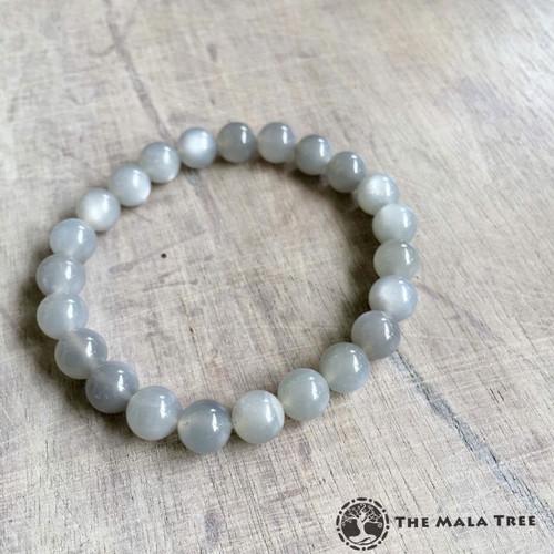 High Quality GRAY MOONSTONE Bracelet