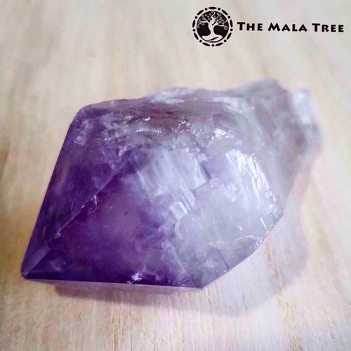 AMETHYST Tumbled Point