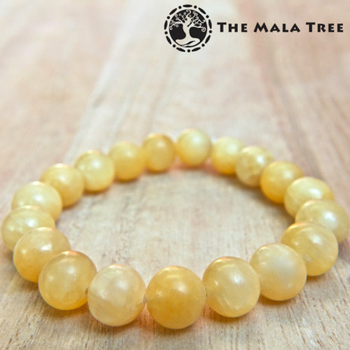 YELLOW/HONEY CALCITE Bracelet
