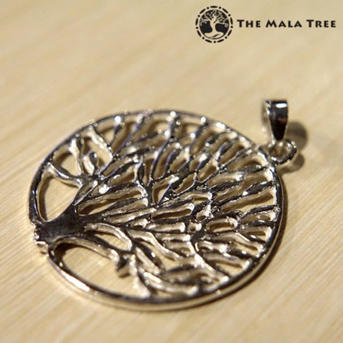 """The Tree of Life"" Silver Statement Pendant"