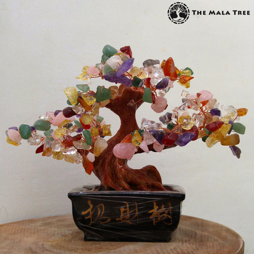 MIXED GEMSTONES Money Tree