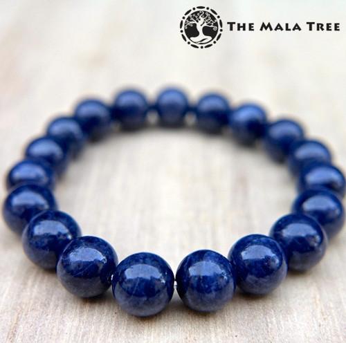 BLUE SAPPHIRE Bracelet (Round, Good Quality)