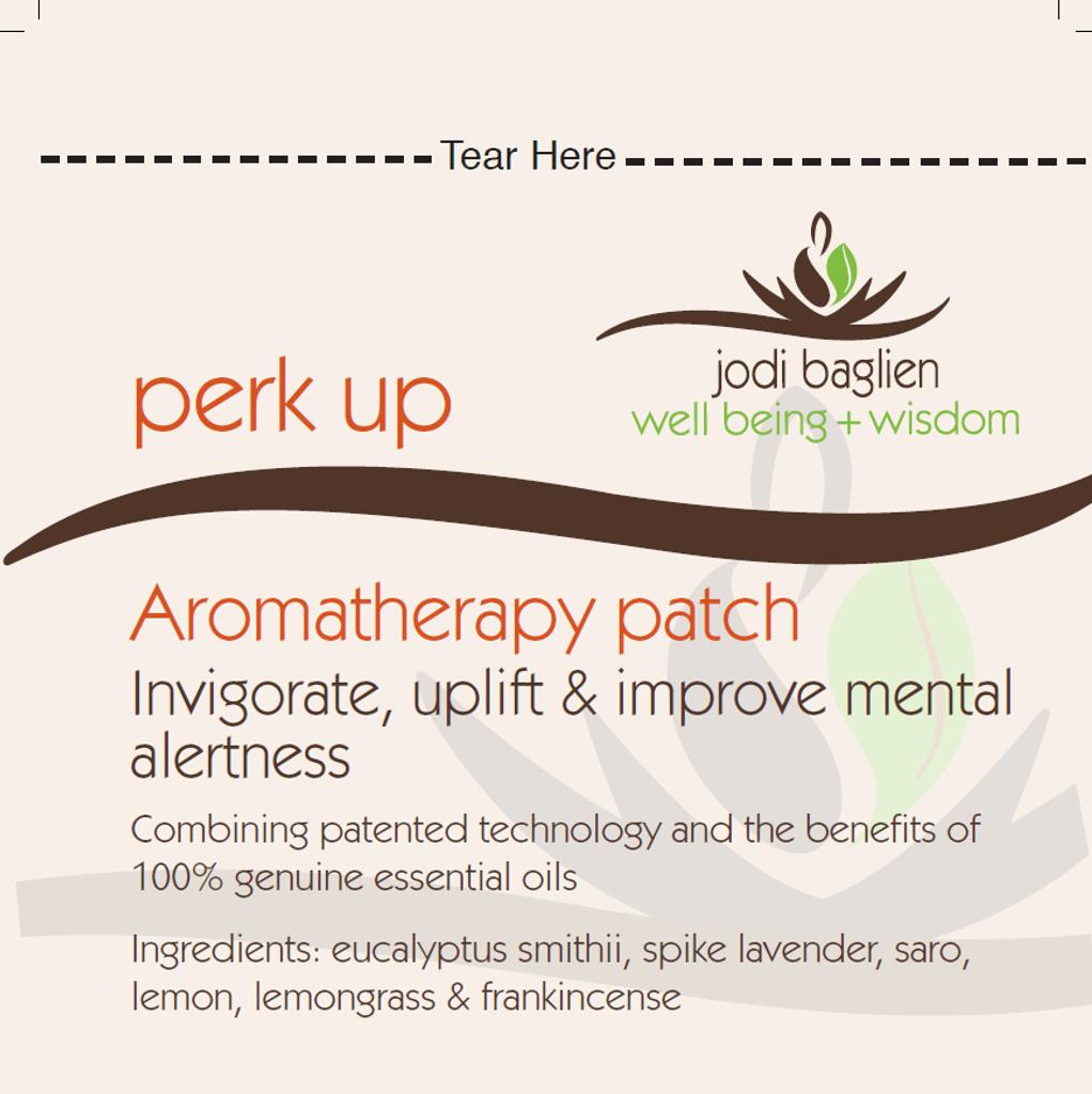 Perk Up  Blend Aromatherapy Inhalation Patch