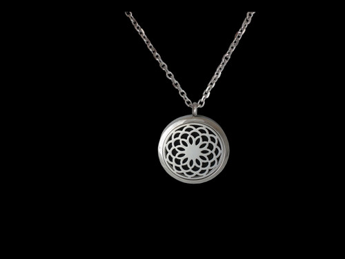 Diffusing Necklace - Lotus flower - Large