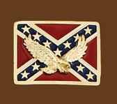 Rebel Eagle Belt Buckle,