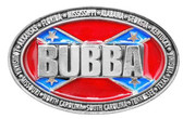 Rebel Belt Buckle BUBBA