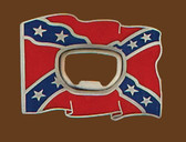 Rebel Flag opener Belt Buckle,