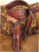 Hand Made Custom Holsters Buscadero Rig Up to size 60 Inches