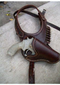 Doc Holiday Custom Made Shoulder Holster Rig Up to size 60 Inches